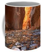 River Rocks In The Narrows Coffee Mug