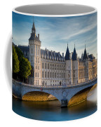River Seine With Conciergerie Coffee Mug