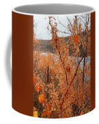River Side Foliage Autumn Coffee Mug