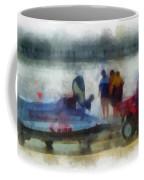 River Speed Boat Photo Art Coffee Mug