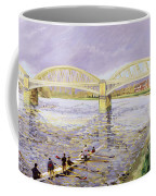 River Thames At Barnes Coffee Mug by Sarah Butterfield