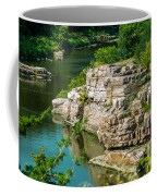 River Through The Rocks Coffee Mug