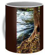 River Through Woods Coffee Mug
