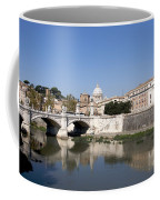 River Tiber With The Vatican. Rome Coffee Mug