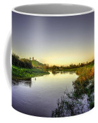 River Tone At Burrowbridge Coffee Mug