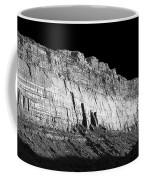 River Wall Bw Coffee Mug