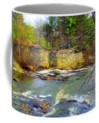 River Wall Coffee Mug