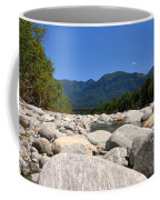 River With Mountain Coffee Mug