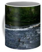 River Wye Waterfall - In Peak District - England Coffee Mug