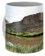 River's Rough Bluff Coffee Mug