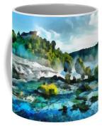 Riverscape Coffee Mug by Ayse Deniz