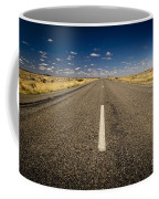 Road Ahead Coffee Mug by Tim Hester