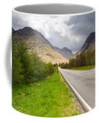 Road Into Glen Coe Coffee Mug