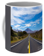 Road Leading To Active Volcanoe Mt Ngauruhoe Nz Coffee Mug