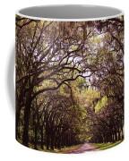 Road Of Trees Coffee Mug