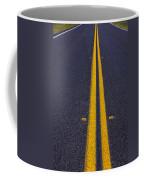 Road Stripe  Coffee Mug