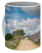 Road Through Lupine Coffee Mug