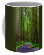 Road Through The Woods Coffee Mug