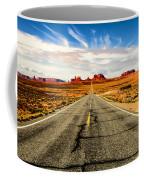 Road To Navajo Coffee Mug