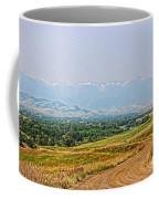Road To The Mountains  Coffee Mug