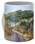 Road To Torloisk, 2008 Wc And Ink Coffee Mug