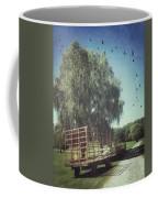 Morgan Horse Farm Vermont Farm Birds Coffee Mug