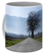 Road With Trees Coffee Mug