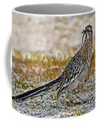 Roadrunner With Lizard Coffee Mug