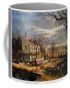 Roadside Inn, 1872 Coffee Mug