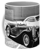 Roadster In Black And White Coffee Mug