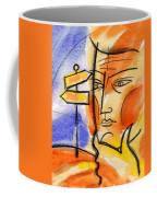 Roadway Coffee Mug by Leon Zernitsky