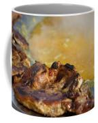 Roasted Steak In Traditional Kotlovina Dish Coffee Mug