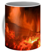 Face In The Fire Coffee Mug