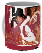 Robert Mitchum Hauls Angie Dickinson Collage Young Billy Young  Old Tucson Arizona 1968-2013  Coffee Mug