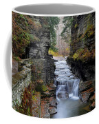 Robert Treman State Park Coffee Mug by Frozen in Time Fine Art Photography
