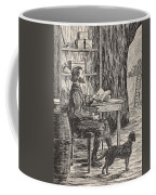 Robinson Crusoe In His Cave Coffee Mug