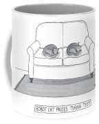 Robot Cat Passes Turing Test Coffee Mug