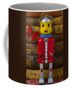 Robot With Butterfly Coffee Mug