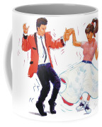 Rock And Roll Dancers Coffee Mug