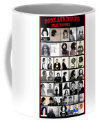 Rock And Roll's Most Wanted Coffee Mug
