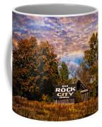 Rock City Barn Coffee Mug by Debra and Dave Vanderlaan