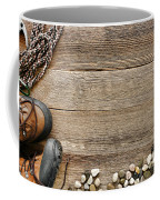 Rock Climbing Background Coffee Mug