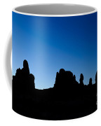 Rock Formations, Arches National Park Coffee Mug