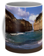 Rock Formations In The Ocean, Loch Ard Coffee Mug