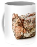 Rock Isolated On White Coffee Mug