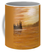 Rock Lake Morning 1 Coffee Mug