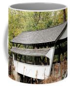 Rock Mill Covered Bridge Ohio Coffee Mug