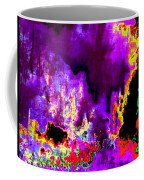 Rock 'n' Roll In Purple Night Coffee Mug