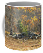 Rock Pile In Maine Blueberry Field Coffee Mug
