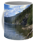 Rock Pools On Christina Lake Coffee Mug